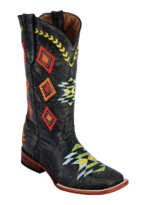 LADIES ARROWHEAD DIST BLACK D-TOE