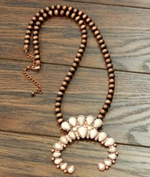 Squash Blossom Navajo Necklace
