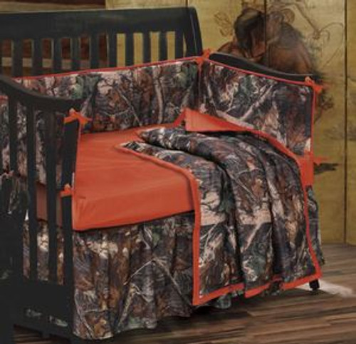 Baby Camo Crib Set