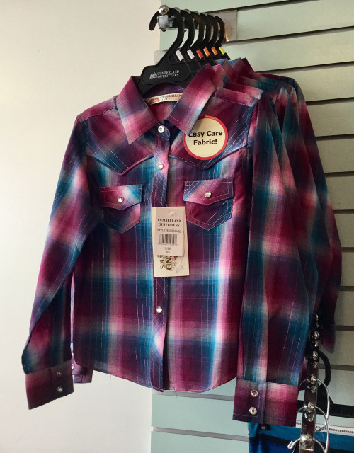 Young Girls Rodeo Western Shirt
