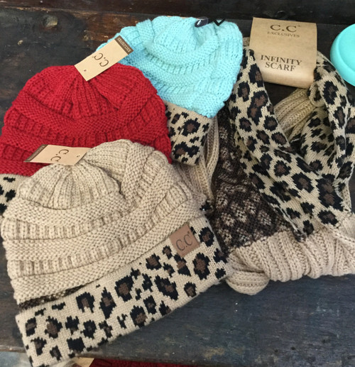 Leopard CC Exclusives Beanies