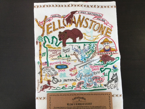 Catstudio Yellowstone Bar Towel