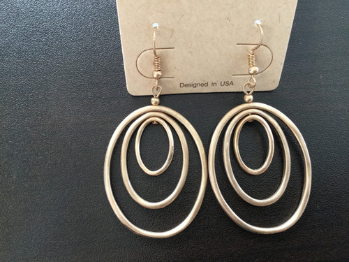 Multi Oval Earrings