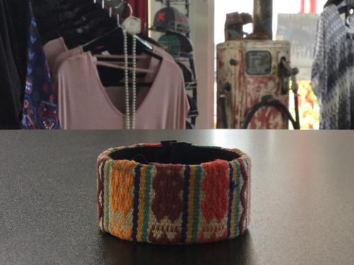 Multicolored Weaved Bracelet