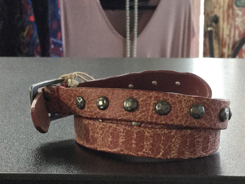 Courage Good Works Leather Bracelet
