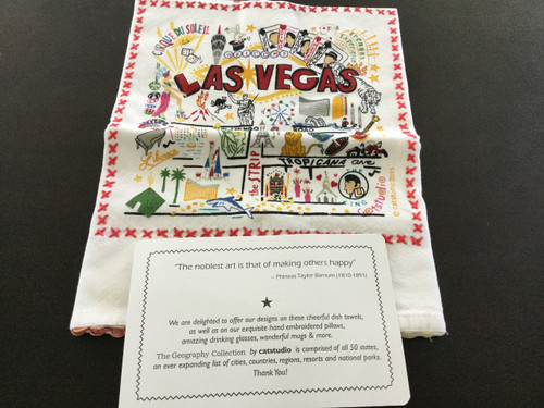 Catstudio Las Vegas Bar Towel
