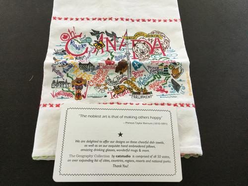Catstudio Canada Bar Towel