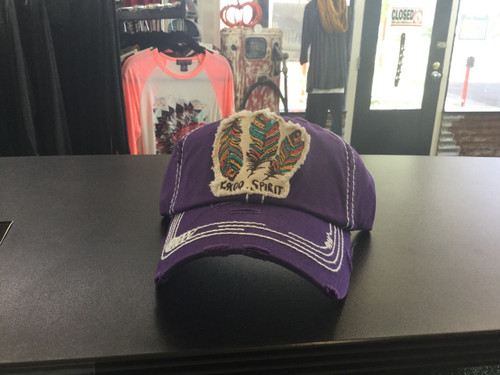 Purple Free Spirit Hat