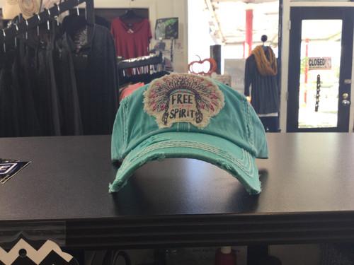 Teal Free Spirit Hat