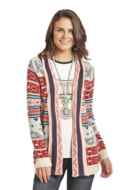 Rock & Roll Cowgirl Aztec Cardigan