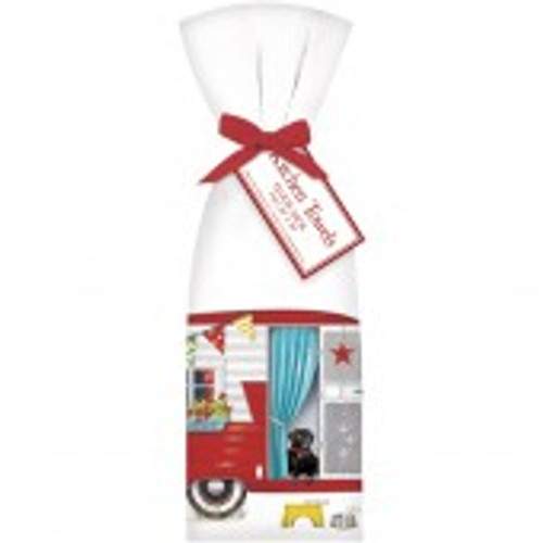 Red Camper Towel Set