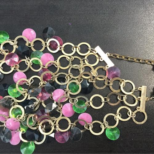 Vintage Multicolored Sparkly Necklace