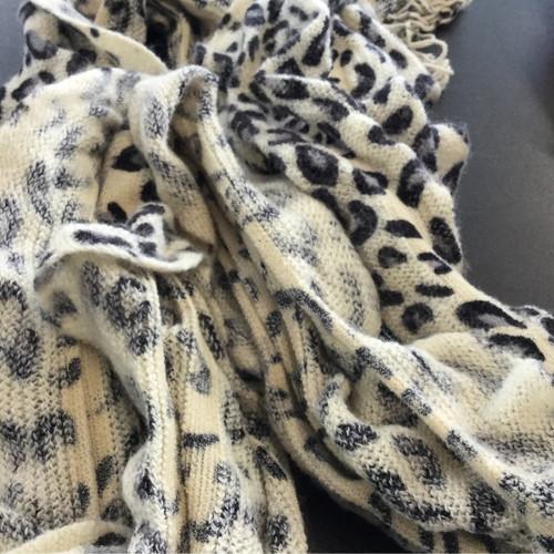 Cheetah Scrunchy Scarf