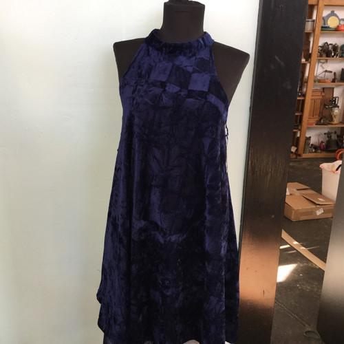 Angie Crush Velvet Dress