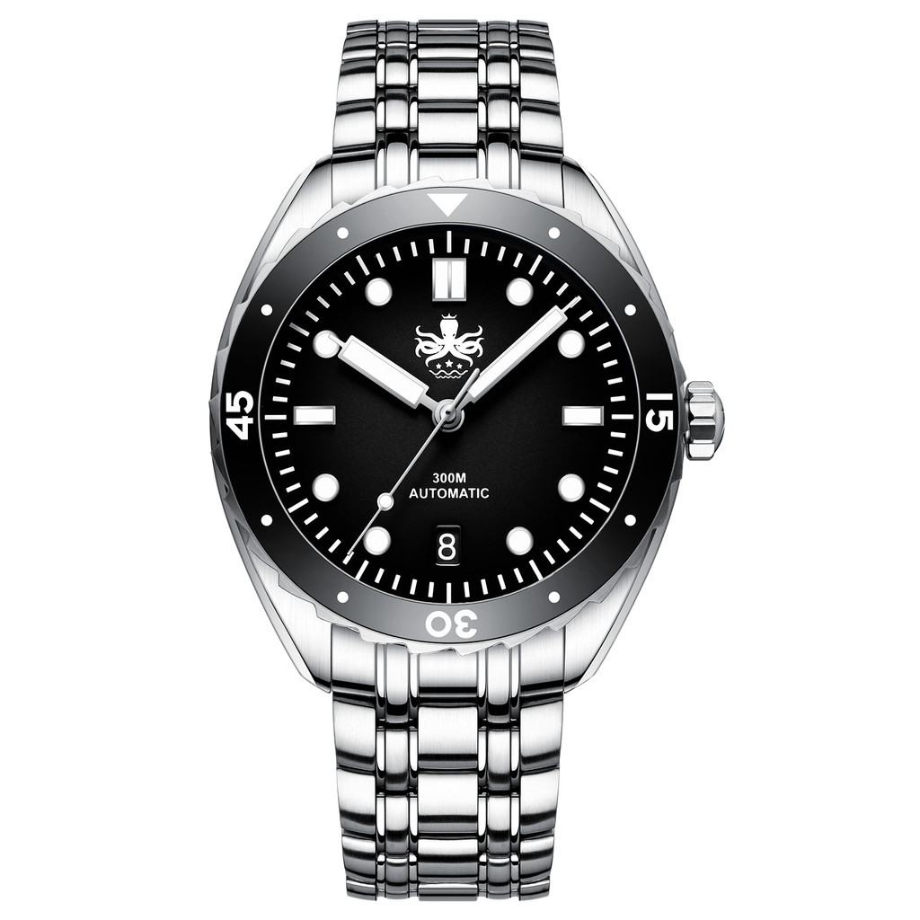 PHOIBOS EAGLE RAY 300M Automatic Dive Watch PY025C Black