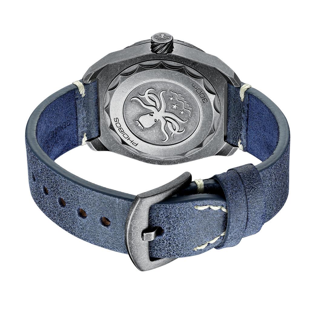 PHOIBOS Proteus 300M Automatic Diver Watch PY028E Black Meteorite