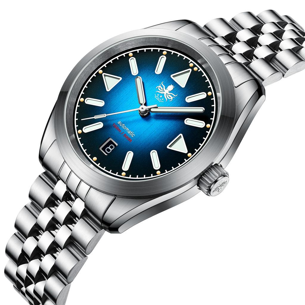 PHOIBOS NEBULA 150M Automatic Watch PY030D Blue