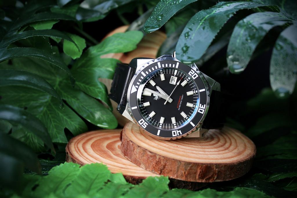 PHOIBOS LEVIATHAN PY032C 500M Automatic Diver Watch Black