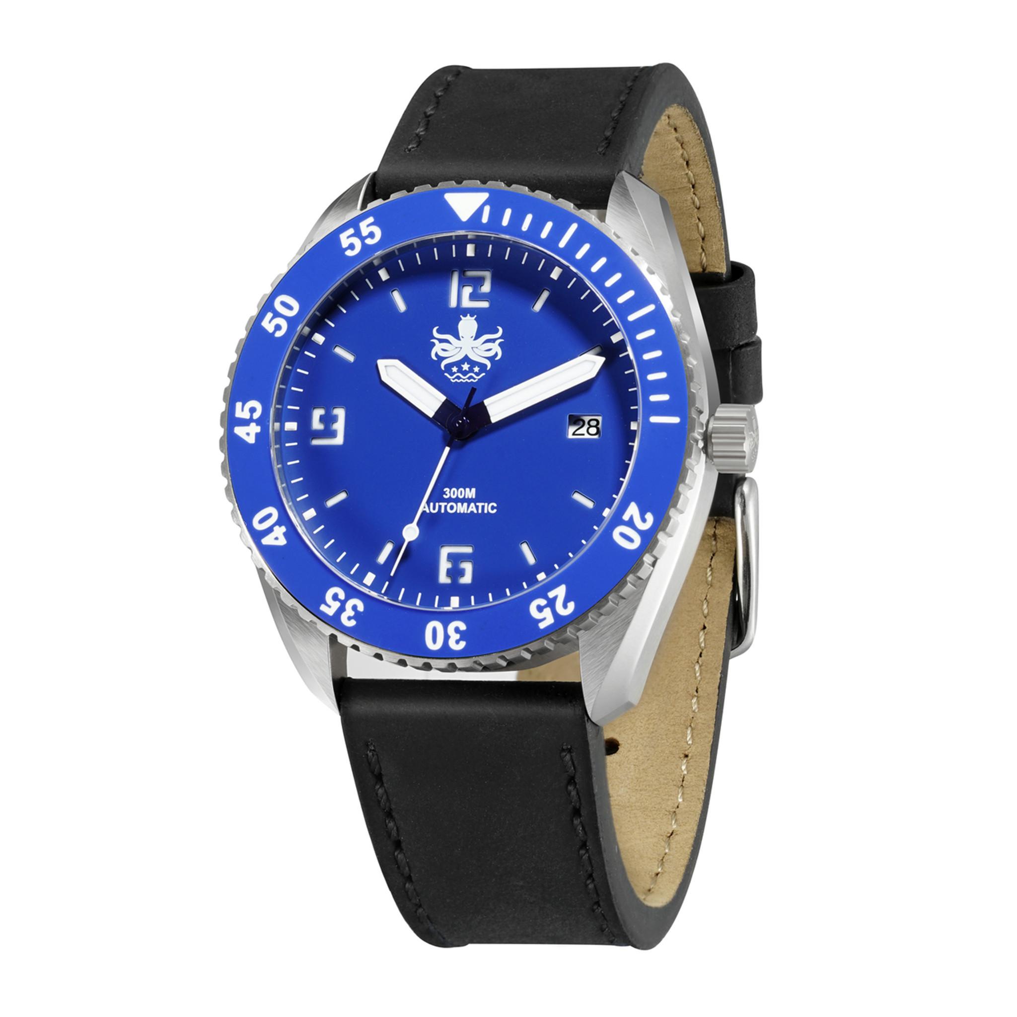 38e3a1708b8 PHOIBOS REEF MASTER PY016B 300M Automatic Diver Watch Blue