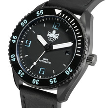 PHOIBOS REEF MASTER PY015C DLC 300M Automatic Diver Watch Black