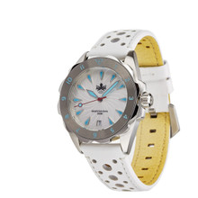 PHOIBOS SEA NYMPH 300M Lady Diver Watch PX021F White
