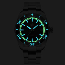 PHOIBOS Proteus 300M Automatic Diver Watch PY024C Black
