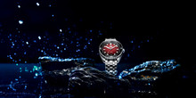 PHOIBOS EAGLE RAY 300M Automatic Dive Watch PY025D Red