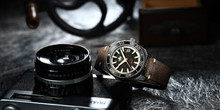 PHOIBOS Proteus 300M Automatic Diver Watch PY028D Black Forged Carbon