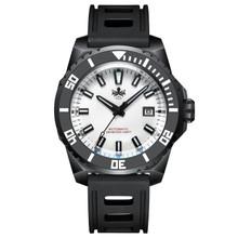 PHOIBOS LEVIATHAN PY032E DLC 500M Automatic Diver Watch White