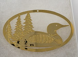 Gold Loon Ornament