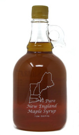 1 Liter of Grade A Golden Pure New England Maple Syrup