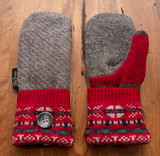 Women's Wool Mittens - GRG1 UD