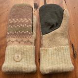 Women's Wool Mittens - LBG1 UD