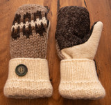 Women's Wool Mittens - CLB1 UD