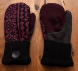 Women's Wool Mittens - RBG1 UD