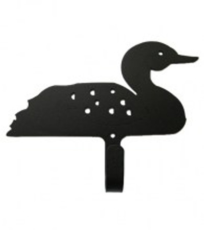 Coat Hook with Loon