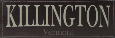 Killington Vermont Sign
