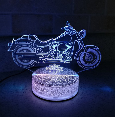 Harley Night Light