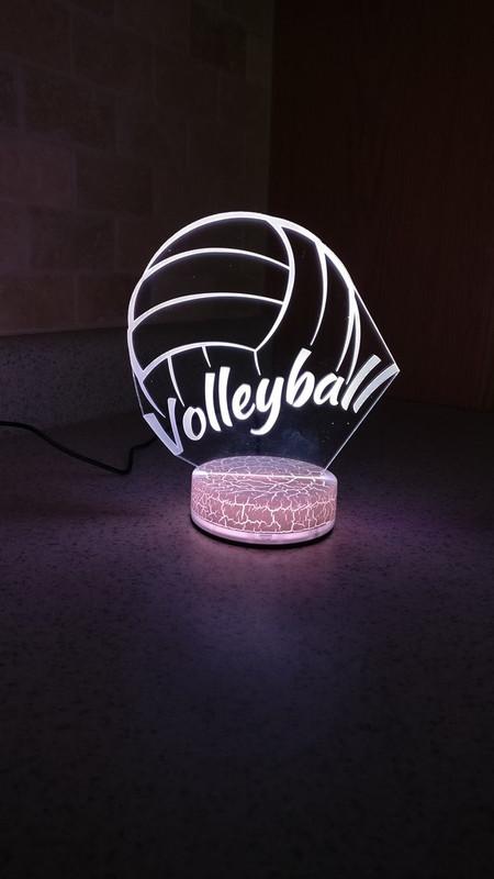 Volleyball Night Light