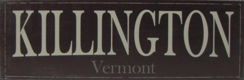Killington Vermont Sign
