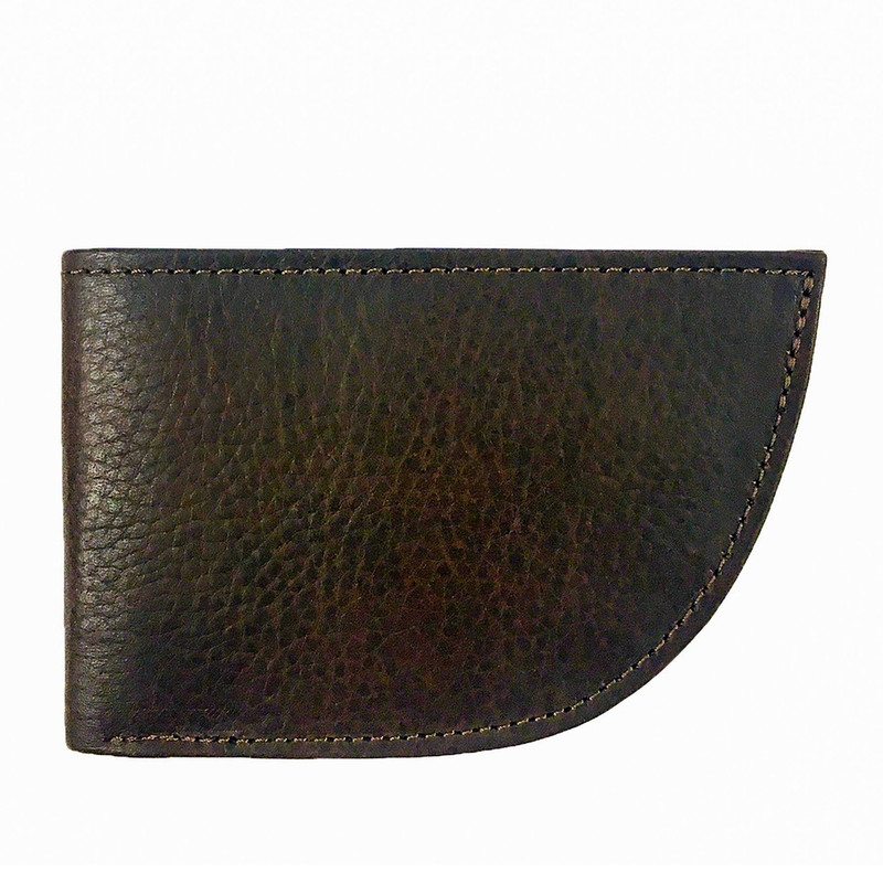 Front Pocket Wallet - Nantucket Style in Brown