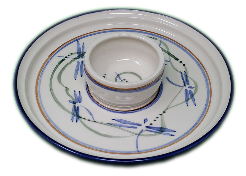 Dragonfly Dipping Plate