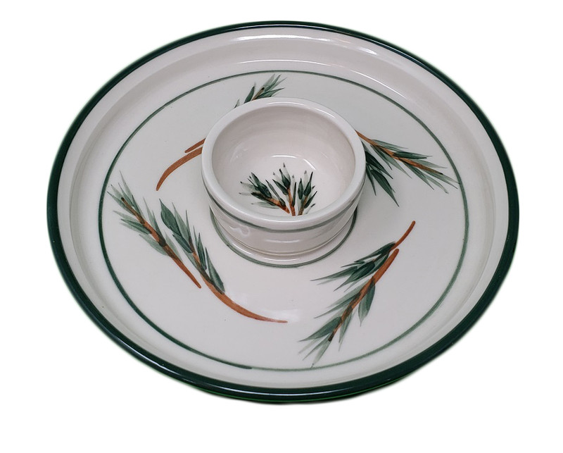 Pine Dipping Plate