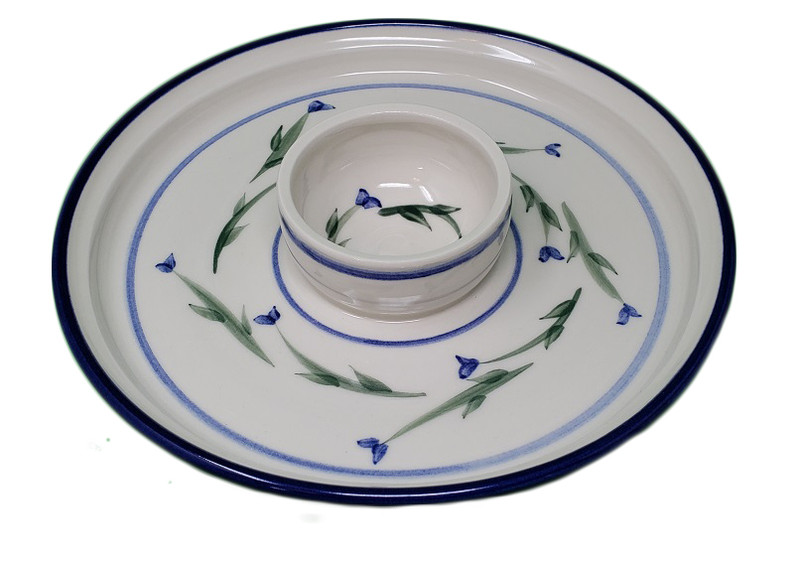 Vine Dipping Plate 2