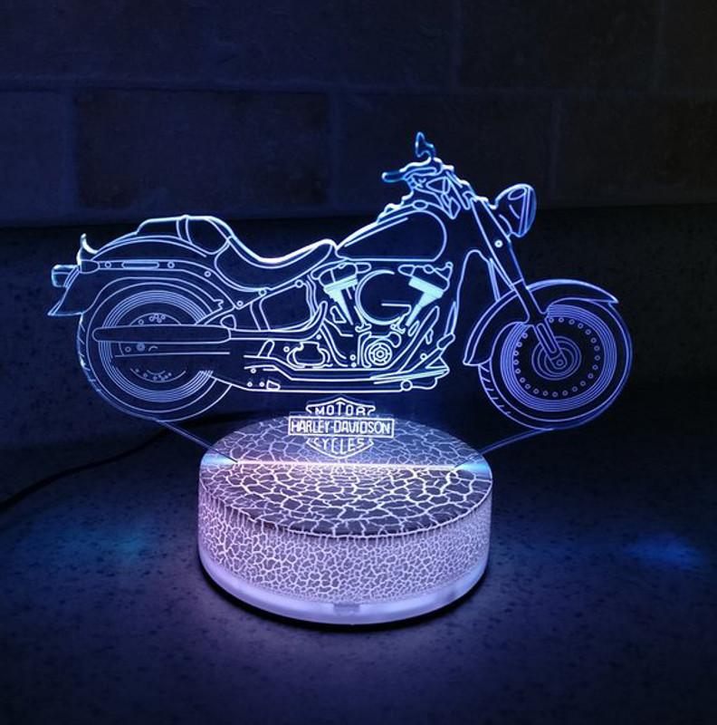 Harley Night Light
