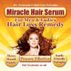 Hair Loss Treatment - More Effective than Shampoo -  Miracle Hair Serum - Without Harmful Chemicals ! -  See Results in Days! 3 Month Supply - Free USA Shipping
