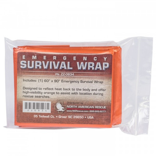 North American Rescue Emergency Survival Wrap NAR