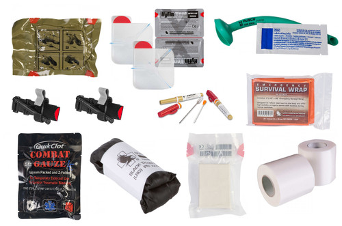 BLISS IFAK Individual First Aid Kit Contents