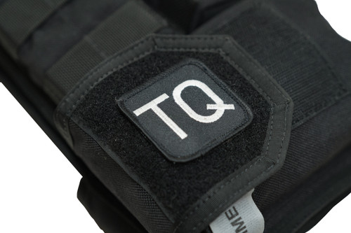 BLISS TQ Tourniquet Patch, Hook and Loop, Velcro