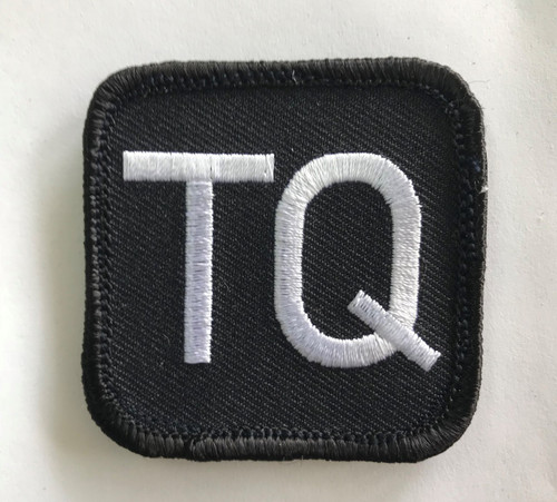 BLISS TQ Patch Front, Hook Velcro, 2in x 2in